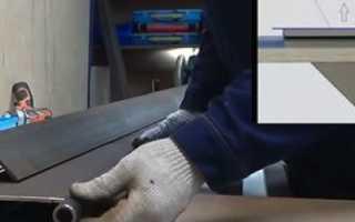 Листогибочный станок своими руками: подробное описание изготовления