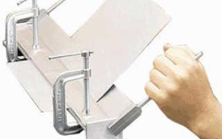 Самодельный листогиб своими руками: фото и подробное описание