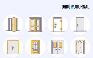 Межкомнатные двери для компактных квартир