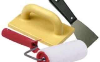 Как выбрать инструмент для нанесения декоративной штукатурки?