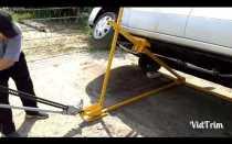 Самодельный опрокидыватель для ремонта автомобиля своими руками
