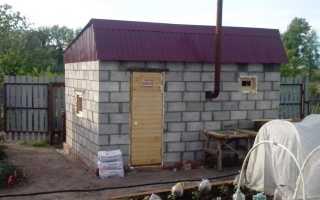 Баня своими руками — примеры реализованных проектов. Строительство бани из газобетона с кирпичным цоколем, древесины, кирпича. Описание этапов строительства