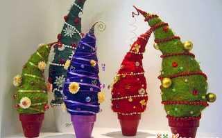 Новогодняя елочка своими руками (мастер-класс, фото)